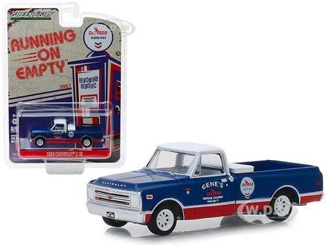 Johnny Lightning 1:64 Scale LOOSE Classic Gray 1965 CHEVROLET C10 Pickup Truck