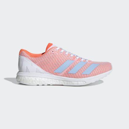 Adizero Boston 8 Shoes White Womens   Shoes, Running women ...