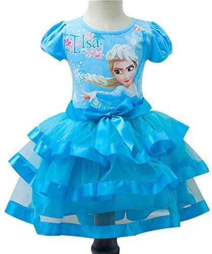Eyekepper Short Sleeve Princess Dress Birthday Party Tutu Dresses