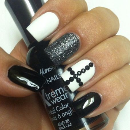 Uncertainly, you are looking for a number of elegant plus chic looking nails and then black and white is single of the best ways to go. Description from stylesatlife.com. I searched for this on bing.com/images