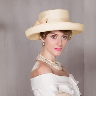 840e9e5bd Ladies' Glamourous Cambric Bowler/Cloche Hat/Kentucky Derby Hats ...