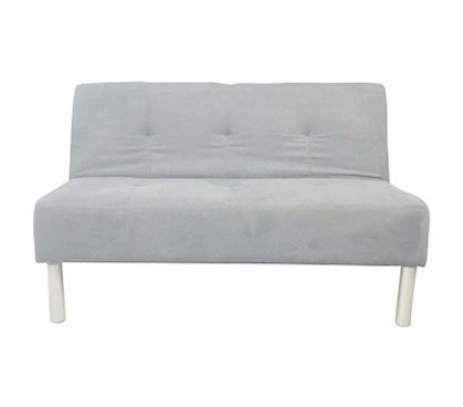 College Mini Futon Glacier Gray With