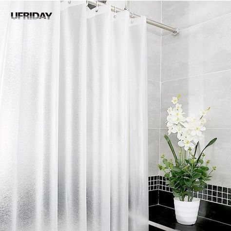 Ufriday New Brand Frosted Eva Matte Silk Translucent Shower