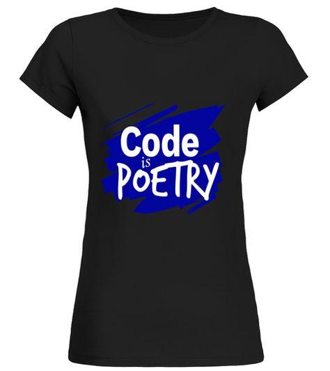 Code Is Poetry computer programming T Shirt computer programming shirt,computer programming t shirt,