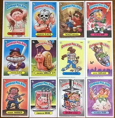 Ebay Ad Url 1986 Topps 4th Series Garbage Pail Kids Stickers Cards Lot Of 12 In 2020 Kids Stickers Garbage Pail Kids Cards