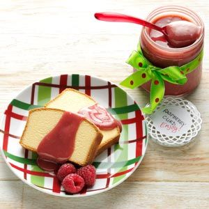 Raspberry Curd Recipe from Taste of Home - A wonderful Food Gift!