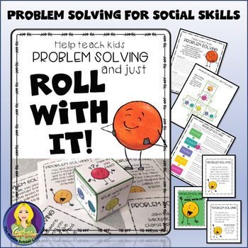 Roll With It Problem Solving Dice Game Teaching Social Skills Problem Solving Social Skills Groups