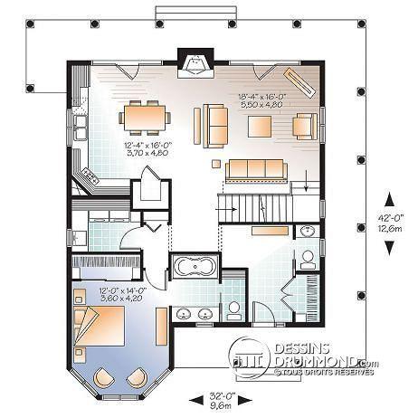 Plan Maison De Campagne House Plans Cottage