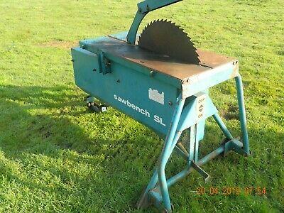 Kidd Sl Sawbench Pto Saw Bench Table Saw For Tractor Bench Table Table Saw Sliding Table