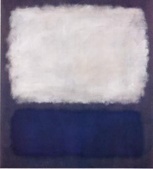 Mark Rothko Most Famous Paintings | Mark Rothko - Blue and Gray 1962