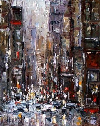 New York City Painting.