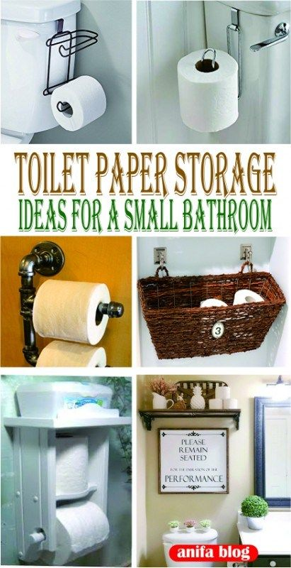 Toilet Paper Holder Ideas For Small Bathrooms