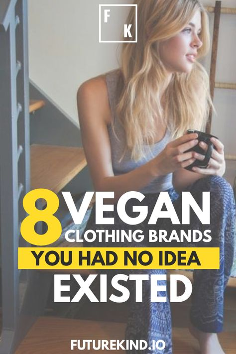 Usually we'll share a ton of vegan recipes and vegan food, but it's not often we share vegan brands. In today's article we include some of the most amazing eco brands that are paving the way to protect the earth through vegan products. If you're living the vegan lifestyle you have to get involved with this amazing vegan company. Share the love with as many vegans as you can. #vegans #veganbrand #vegancompany