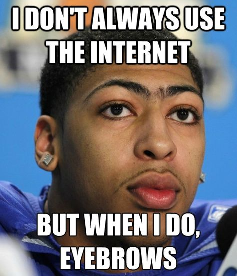 Ok So Not Toronto Sports But This Picture Of Anthony Davis