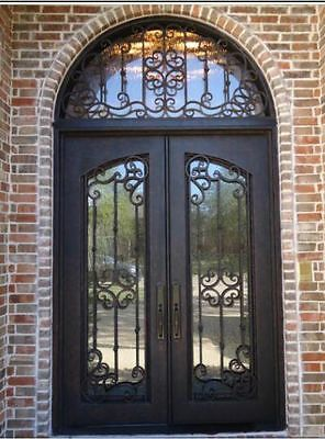 Hand Crafted Wrought Iron Entry Doors 12 Gauge Wrought Iron 72 X 120 Wrought Iron Doors Wrought Iron Entry Doors Wrought Iron Front Door