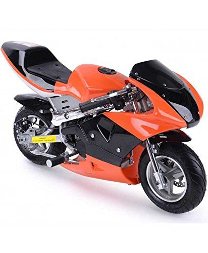Rosso Motors Motorcycle for Kids 49cc Gas Mini Pocket Bike