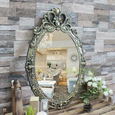 D28 Black Gold Bathroom Toilet Vanity Wall Makeup Mirror Front Waterproof Y Fashion Home Garden Homedcor Mi In 2020 Toilet Vanity Gold Bathroom Bathroom Toilets