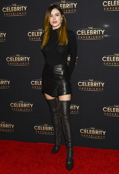 Bella Thorne attends The Celebrity Experience Featuring at Hilton Universal City.