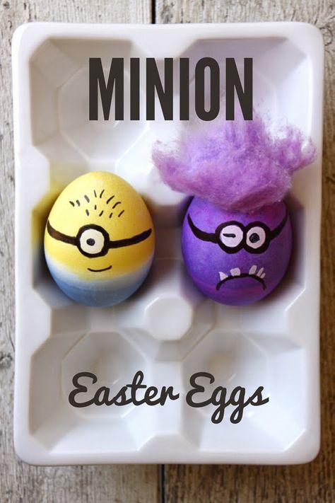 Make Minion Easter Eggs!