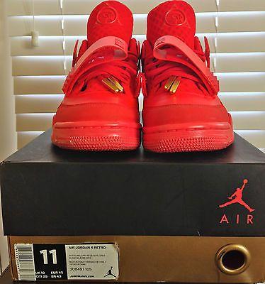 achat pas cher Air Jordan 4 Adidas Yeezy October Rouge Offre magasin rabais amazone jeu réduction de sortie 2014 rabais bknc8ILf