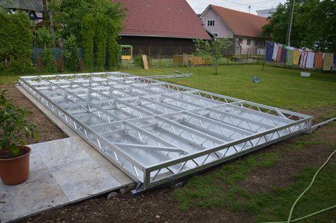 Pooldeck Stegholz In 2019 Moderne Pools Schwimmbad Bauen