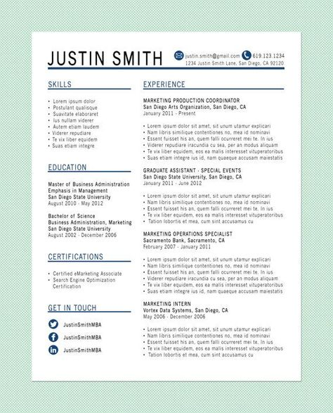 13 best images about Cv writing on Pinterest Creative, UX/UI - marketing intern job description