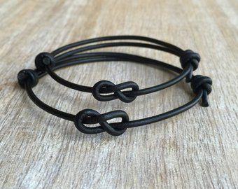 bracelet couple infini