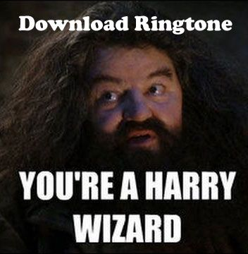 You Re A Wizard Harry Ringtone In 2021 Movie Ringtones Harry Download Free Ringtones