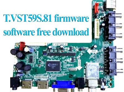 T VST59S 81 firmware/software All Update files free download