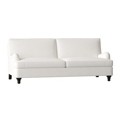 Birch Lane Heritage Montgomery Cotton 82 Recessed Arm Sofa In 2020 Sofa Slipcovers Sofa Pillows
