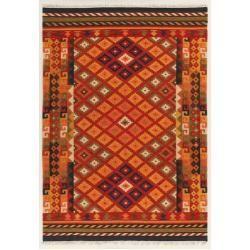 Kelim Teppiche Handgefertigter Kelim Teppich Sivas Aus Wolle