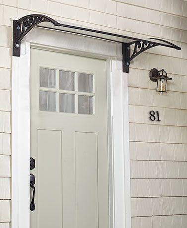 Natural Sunlight Door Canopies In 2020 Garage Door Design Awning Over Door Front Door Canopy