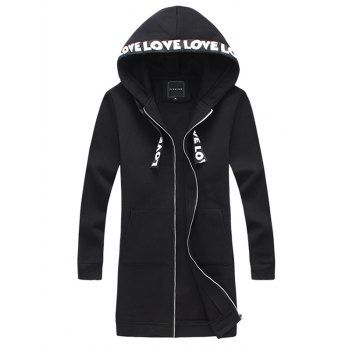Hooded Zip Up Jacket #Fashion #Mens #Men #Black | Jackets