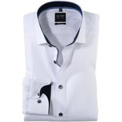 Olymp Level Five Shirt Body Fit Royal Kent Weiss 46 Olymp In 2020 Body Fit American Actors Dresses