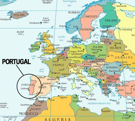 Map Of Spain Italy.Portugal Map01 Gif Portugal Map Of Spain Italy Map Map