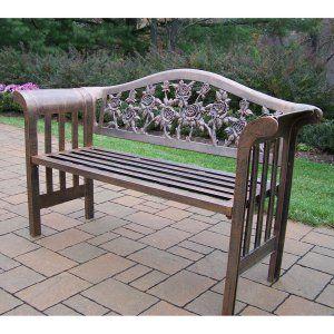 Magnificent Outdoor Benches Hayneedle Page 2 In 2019 Wooden Garden Inzonedesignstudio Interior Chair Design Inzonedesignstudiocom