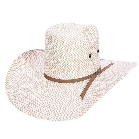 df63b6f7b0 Tombstone 1951 Two Tone Zig Zag Bull Rider Hat