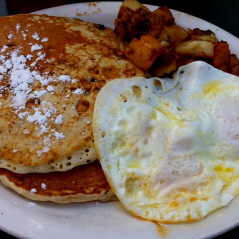 A close second for favorite: peanut butter chip pancakes.