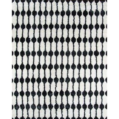 Novogratz Geometric Handmade Tufted Black White Area Rug Rug Size Runner 2 3 X 7 6 In 2020 Black White Rug Black Shag Rug White Area Rug