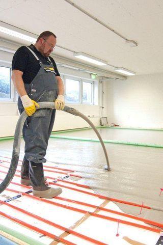 Fussbodenaufbau Energieeffizient Und Komfortabel Fussboden Fussbodenheizung Bodenheizung
