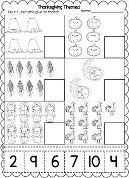 Pin On Thanksgiving Themed Worksheets Thanksgiving cut and paste worksheets