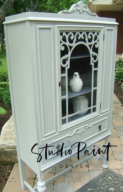 China Cabinet Harriet Painted Furniture Vintage China Cabinets