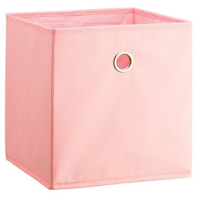 Fabric Cube Storage Bin Light Pink 11 Room Essentials With