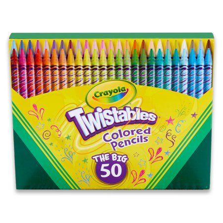 Arts Crafts Sewing Colored Pencil Set Crayola Colored Pencils