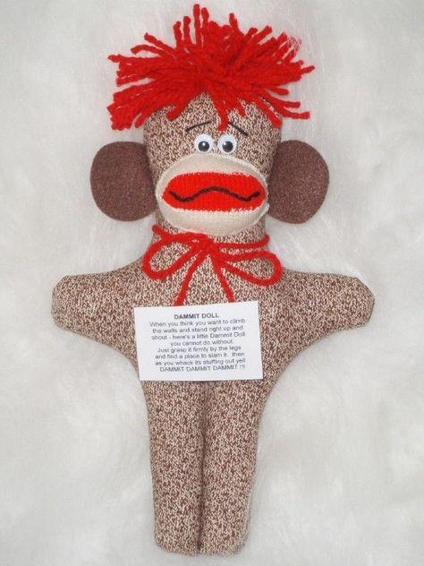 TEACHER/'S AIDE FRUSTRATION Doll dammitn Stress Relief GREAT SCHOOL GIFT!!