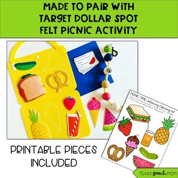 Inferencing And Describing Picnic Activities Picnic Time Picnic Set