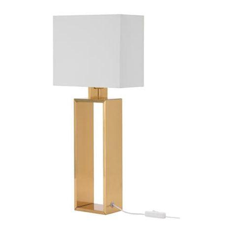 Stiltje Lampe De Table Blanc Casse Couleur Laiton Lampe