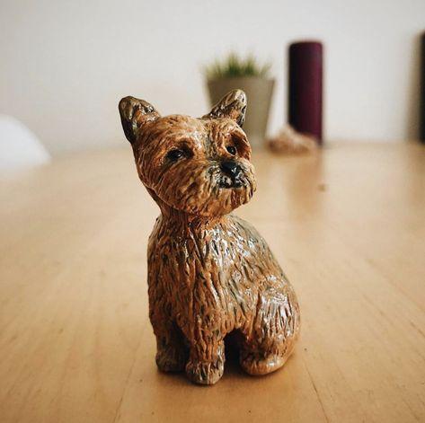Miniaturas de mascotas hechas a mano