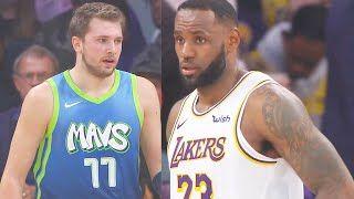 Los Angeles Lakers Vs Dallas Mavericks Full Game Highlights