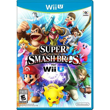 Super Smash Bros Nintendo Wiiu Digital Download 0004549666034 Walmart Com Super Smash Bros Game Smash Bros Wii Wii U Games